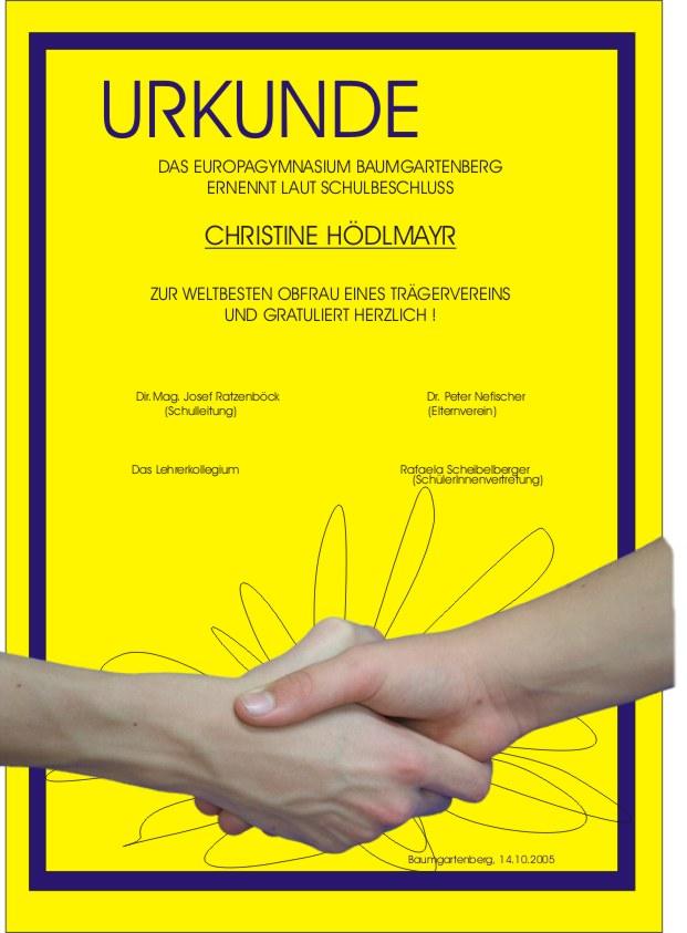 Christine Hödlmayr-Gammer zum 50. Geburtstag
